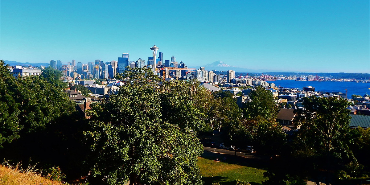 kerry park seattle waschington united states