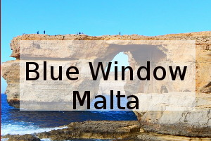 Blue window malta